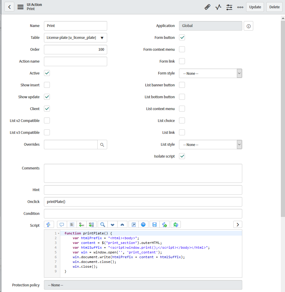 Scripted Printing: How to Print Records from ServiceNow with Special
